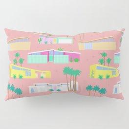 Palm Springs Houses Pillow Sham