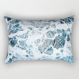 Ocean Mandala - My Wild Heart Rectangular Pillow