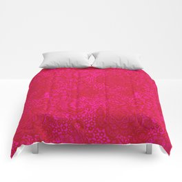 Christmas Brocade Lace with Doves Comforters