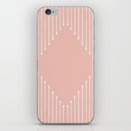 Geo / Blush iPhone Skin
