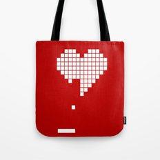 Arknoid Heart Tote Bag