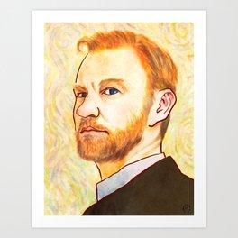 Vincent Van Gatiss Art Print