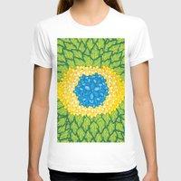 brasil T-shirts featuring Brasil Estampa by Henrique Abreu