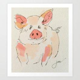 This Little Piggy... Art Print