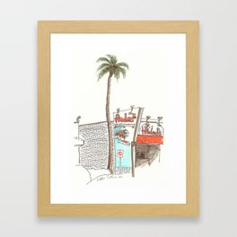 Hodad's Framed Art Print