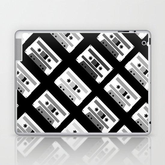 Black and White Tapes 45 Laptop & iPad Skin