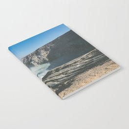 Ijen crater, Indonesia Notebook