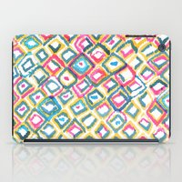 ikat iPad Cases featuring IKAT by  Ray Athi