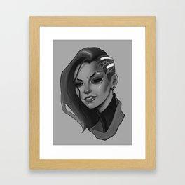 Hacked Framed Art Print