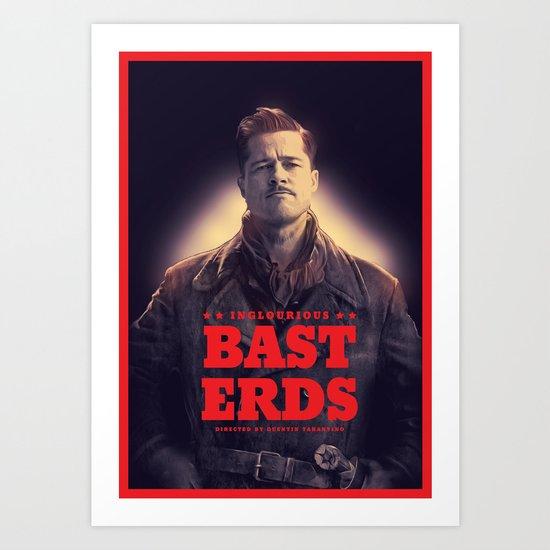 Inglourious Basterds Poster Art Print