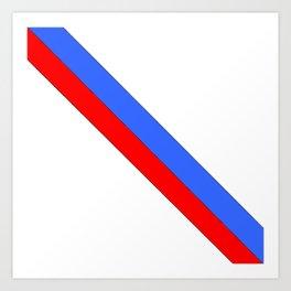 Flag of Haiti 2 -haitan,haitien,port aux princes,cap haitien,carrefour,antilles. Art Print