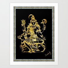 SHIVA - Hindu God of Destruction Art Print