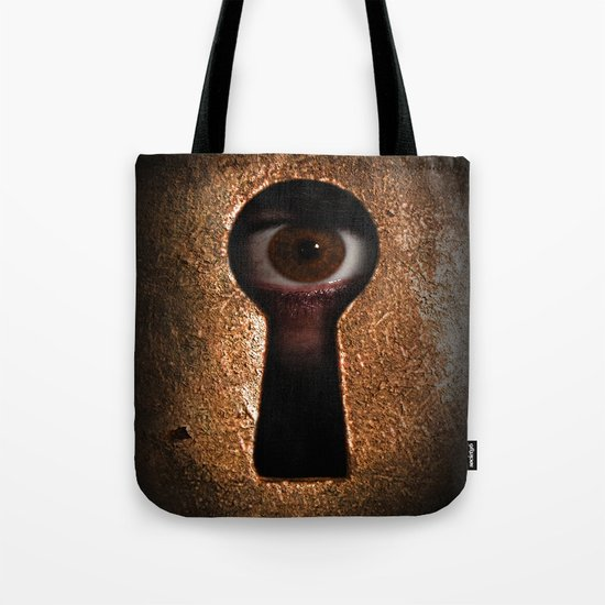 Who is watching you? Tote Bag