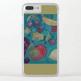 Retro Kitchen  WC20150714a Clear iPhone Case