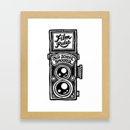 Analog Film Camera Medium Format Photography Shooter Framed Art Print