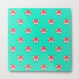 cheeky fox Metal Print