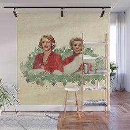 Sisters - A Merry White Christmas Wall Mural