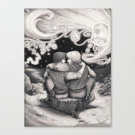 Who Needs a Princess? Canvas Print