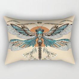 Dragonfly Tattoo Rectangular Pillow