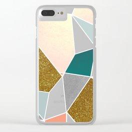 Geometric #society6 #decor #buyart Clear iPhone Case