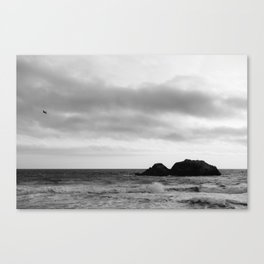 Sutro Baths - California Canvas Print