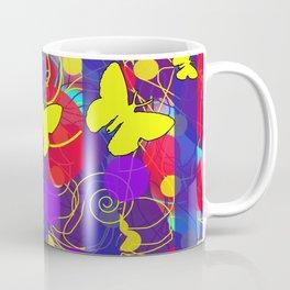 Happy Spring Pattern Coffee Mug