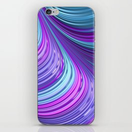 Jewel Tone Abstract iPhone Skin