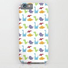 Dinosaur Pattern iPhone 6s Slim Case