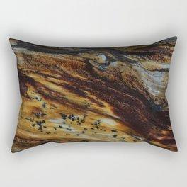 Patterns of an old wood Rectangular Pillow