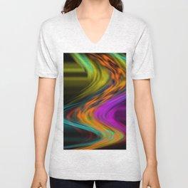 follow the colors Unisex V-Neck