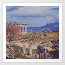 Ancient Corinth Art Print