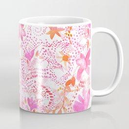 Pink Flourish Coffee Mug