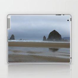 Misty Morning at Cannon Beach Laptop & iPad Skin