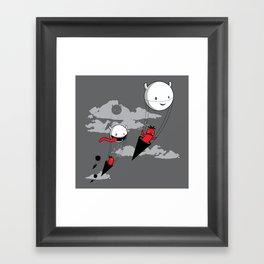 Acute Invasion Framed Art Print