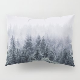 Winter forest trees #1 Pillow Sham