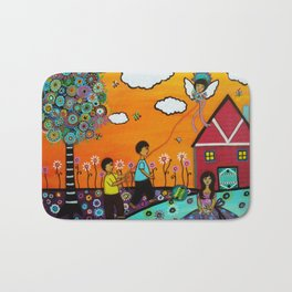 Pipangelo Whimsical Painting Bath Mat