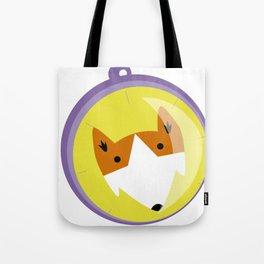 Compass fox Tote Bag