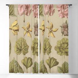 Victorian Botanical Blackout Curtain