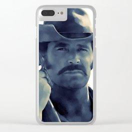 James Garner, Hollywood Legend Clear iPhone Case