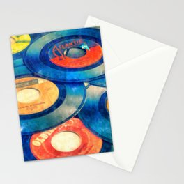 Take those old records off the shelf  Stationery Cards