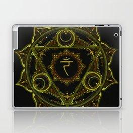 Solar Plexus Mandala Laptop & iPad Skin