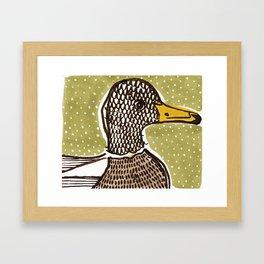 Mr Mallard Framed Art Print