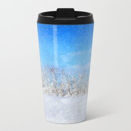 Frosty Season's Greetings Travel Mug