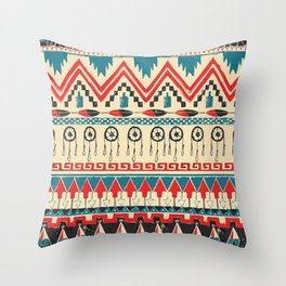 Pattern V.2 Throw Pillow