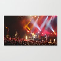 hayley williams Canvas Prints featuring Hayley Williams by Audrey's Photography