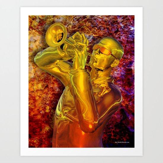 Trumpet Solo Art Print