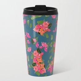April blooms(Bougainvillea_blue) Travel Mug