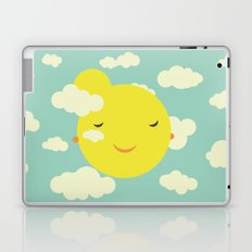 Miss Sunshine in clouds Laptop & iPad Skin