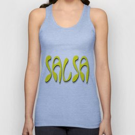 Salsa Yellow Niche Unisex Tank Top