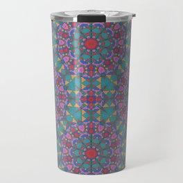 Jeweled Mandala Travel Mug